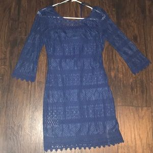Navy blue B Darlin size 9/10 dress mid thigh